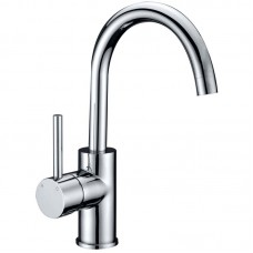 OPUS PIN HANDLE GOOSENECK BASIN MIXER - PC-2002SB