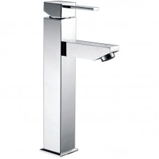 SARA SQUARE HIGH RISE BASIN MIXER - PS-2002SB