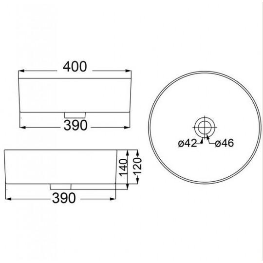 TWA / ULTRA THIN BASIN - HDI-22-401