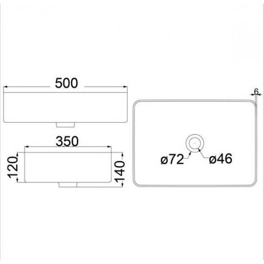 TWA / ULTRA THIN BASIN - HDI-22-403