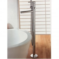 ROUND BATH FILLER WITH HAND SHOWER - HY898