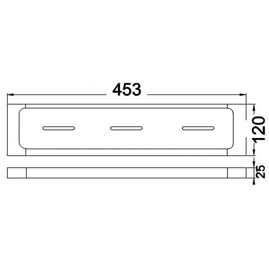 TWA / SETO COSMETIC SHELF - 3812