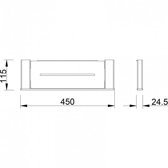 AIKO METAL SHELF - 7103