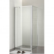 SQUARE SEMI-FRAME SHOWER SCREEN SET - PLT-4003