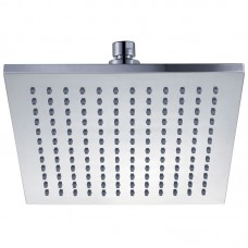 ROSA SQUARE PLASTIC SHOWER HEAD 200mm - PRP1025-1