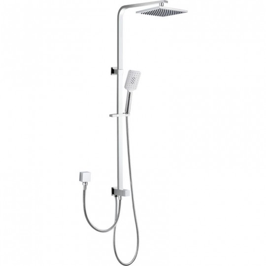 EDEN SQUARE MULTIFUCTION SHOWER SET( TWO HOSES) - PHC7111S