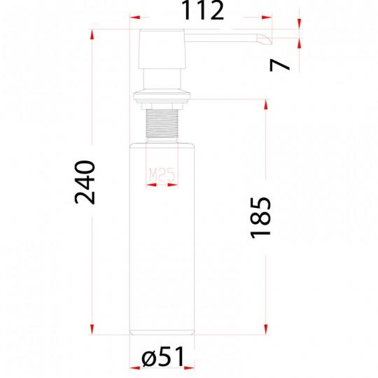 Sink Soap Dispenser - CN010