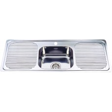 DOUBLE DRAINER,ONE BOWL SINK - DH446S