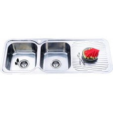 CORA DOUBLE BOWLS KITCHEN SINK - P1180LHB