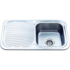 CORA SINGLE BOWL & SINGLE DRAINER KITCHEN SINK - P780RHB