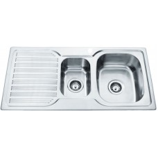 1 & 1/2 BOWL SINK - PN980A-RHB
