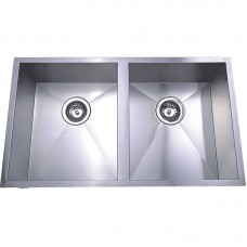 ROSA DOUBLE BOWLS ABOVE / UNDERMOUNT SINK - PS340D