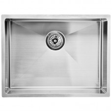 EDEN SINGLE BOWL ABOVE / UNDERMOUNT SINK (R10 CORNER) - PS540R