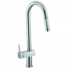 SARA SQUARE HANDLE PULL-OUT SINK MIXER - PS1005SB