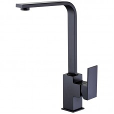 ROSA BLACK SQUARE SINK MIXER - PSS1001SB-B