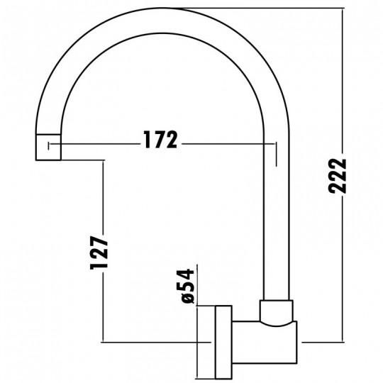 L SWIVEL OUTLET - LNZ06