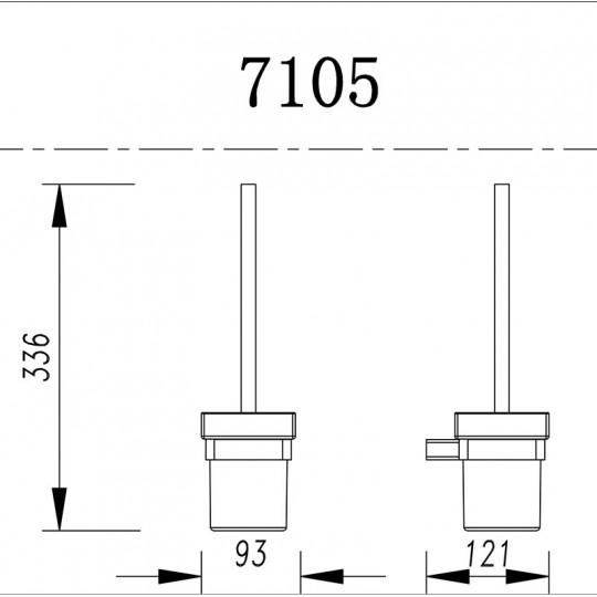 AIKO TOILET BRUSH - 7105