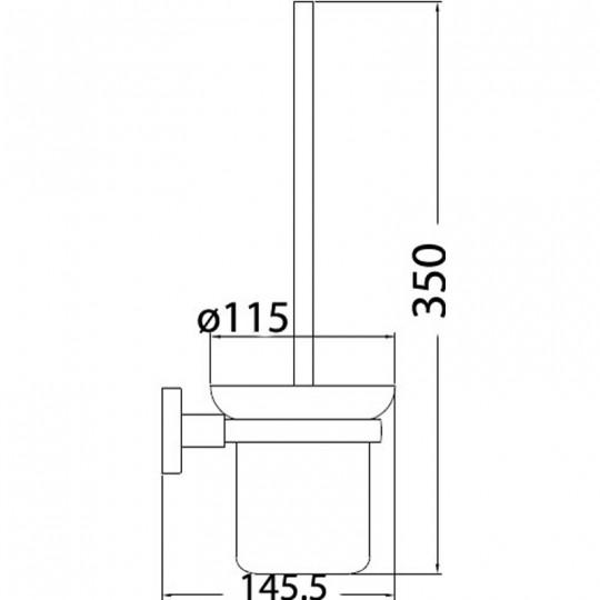 SARA TOILET BRUSH - 8919