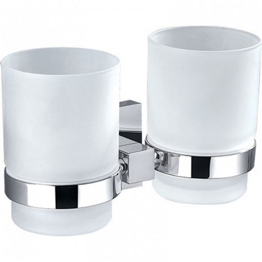 SARA DOUBLE TUMBLER HOLDER - 8928