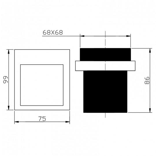 EDEN TUMBLER HOLDER - 5607-2-MB
