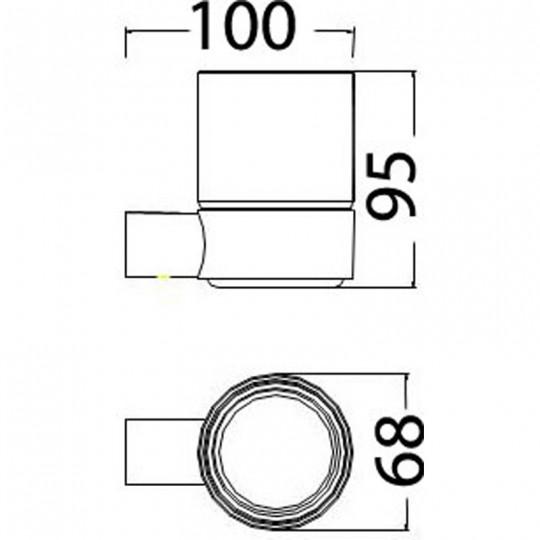DOVE TUMBLER HOLDER - 7306