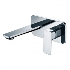TWA/ SETO WALL BASIN MIXER WITH SPOUT C - HYB66-601