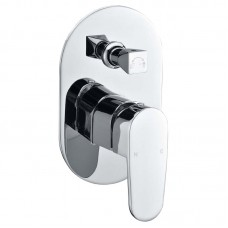 SHOWER/WALL MIXER WITH DIVERTER - PD3002SB