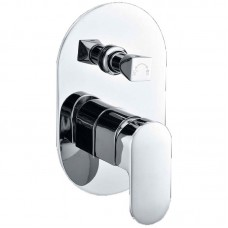 PINE WALL MIXER WITH DIVERTER - PE3002SB