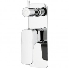 EDEN SOFT SQUARE BATH/SHOWER MIXER WITH DIVERTER - PSL3002